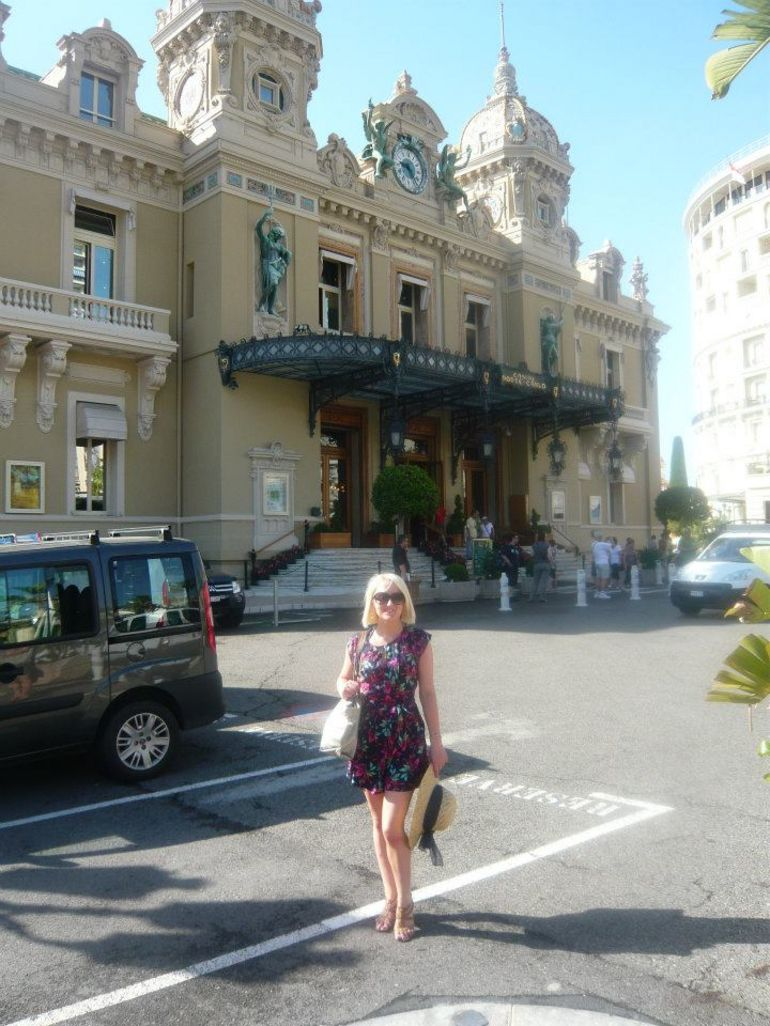 Outside the Monaco Casino - Monaco
