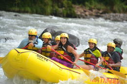 Photo of San Jose Whitewater Rafting on the Pacuare River in Costa Rica Pacuare rafting