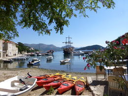 Photo of Dubrovnik Elafiti Islands Cruise from Dubrovnik Pretty Harbour of Sipan