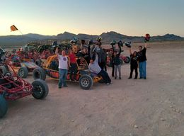Photo of Las Vegas Extreme Dune Buggy Night Tour from Las Vegas Ready to ride