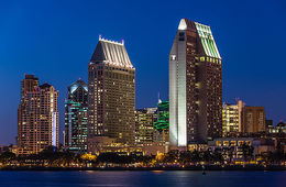 Photo of San Diego USS Midway Museum San Diego Skyline