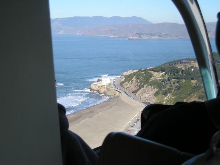 San Francisco Helicopter Tour - Cliffhouse - San Francisco