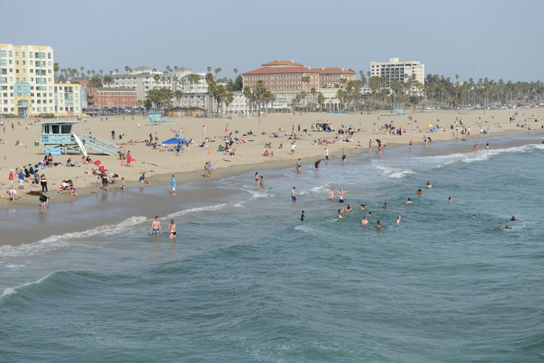 Santa Monica Beach & Pier - Los Angeles