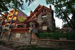 Everyone knows the stories about Molly Brown being on the Titanic when it sank. This was her home in Denver for many years and the house has its own secrets. , Debra P - May 2016