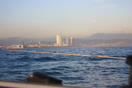 Barcelona skyline, SCV - January 2013