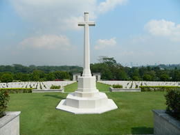 Photo of   The War memorial at Kranji. A beatiful setting for a special reminder.