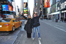 Photo of New York City Private New York Walking Tour with a Personal Photographer Time Square
