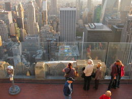 Top of the top of the Rockefeller center, Oct 2012 , Jan - October 2012