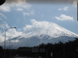 Splendid view of Mt Fuji on our way to Lake Ashi., Mei Shean T - April 2010