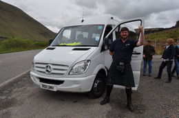 Our OUTSTANDING driver/guide for the Highlands, Glencoe, Loch Ness trip. Ask for him by name when booking. , Amlan D - July 2015