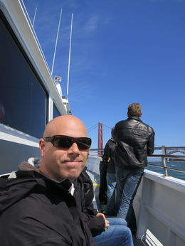 Photo of San Francisco Whale Watching & Wildlife Eco Tour from San Francisco Beautiful day for a boat ride