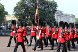 The changing of the guards parade had more ceremony than expected. It's quite the sight to see. , Brett S - December 2014
