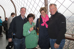 Cheers to a fabulous time in Paris! , Kristin C - May 2013