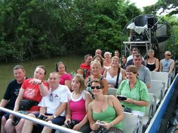 On the everglades tour., Mark C - November 2008