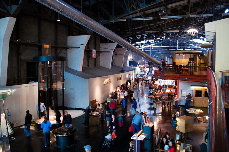 Inside the Exploratorium - San Francisco