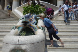On our visit to Park Guell , John M - June 2015