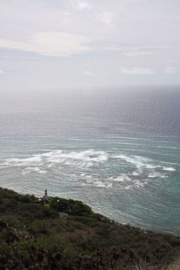 Photo of Oahu Diamond Head Crater Sunrise Small Group Adventure Lighthouse view at top of Diamond Head
