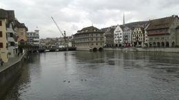 Viewing the beautiful river of Limmat , Jason J - November 2014