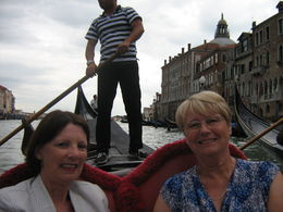 Photo of Venice Venice Gondola Ride and Serenade with Dinner Lorraine and Anne,