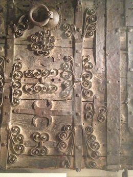 Carved church door , Debra H - October 2012