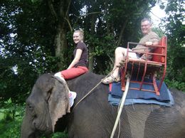 Photo of Bangkok Khao Yai National Park and Elephant Ride Day Trip from Bangkok Ride the elephant & be the mamout
