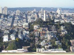 A view of Coit Tower and North Beach., Christine C - July 2008