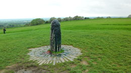 Photo of Dublin Celtic Heritage Day Trip from Dublin: Boyne Valley, Hill of Tara and Loughcrew Celtic Tombs Stone at Hill of Tara