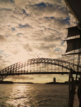 Photo of Sydney Sydney Harbour Tall Ship Twilight Dinner Cruise Tall Ship Dinner Cruise