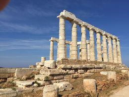 The temple is in a spectacular location where the Aegean Sea meets the Saronic Sea. , DavidandDavid - May 2016