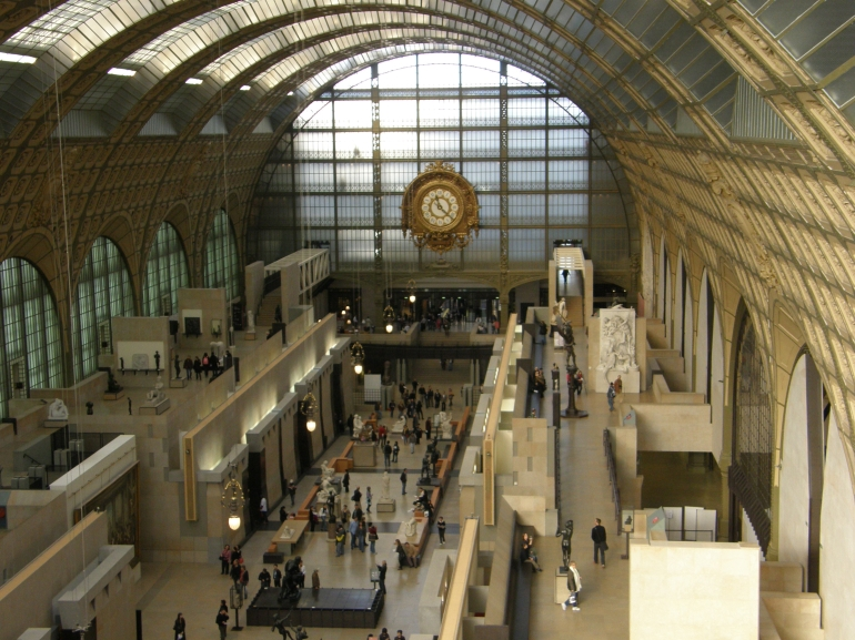 The Mus�e d'Orsay - Paris
