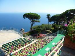 Photo of Sorrento Amalfi Coast Private Day Tour from Sorrento The theater at Villa Ruffolo