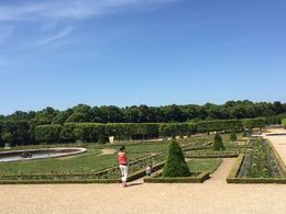 The grounds at Versailles , Val - June 2015