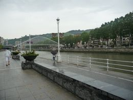 Photo of   View along the waterfront with the White Bridge