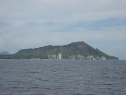 It's great to get out on the water and see the views of Waikiki and Diamond Head., Bandit - February 2011