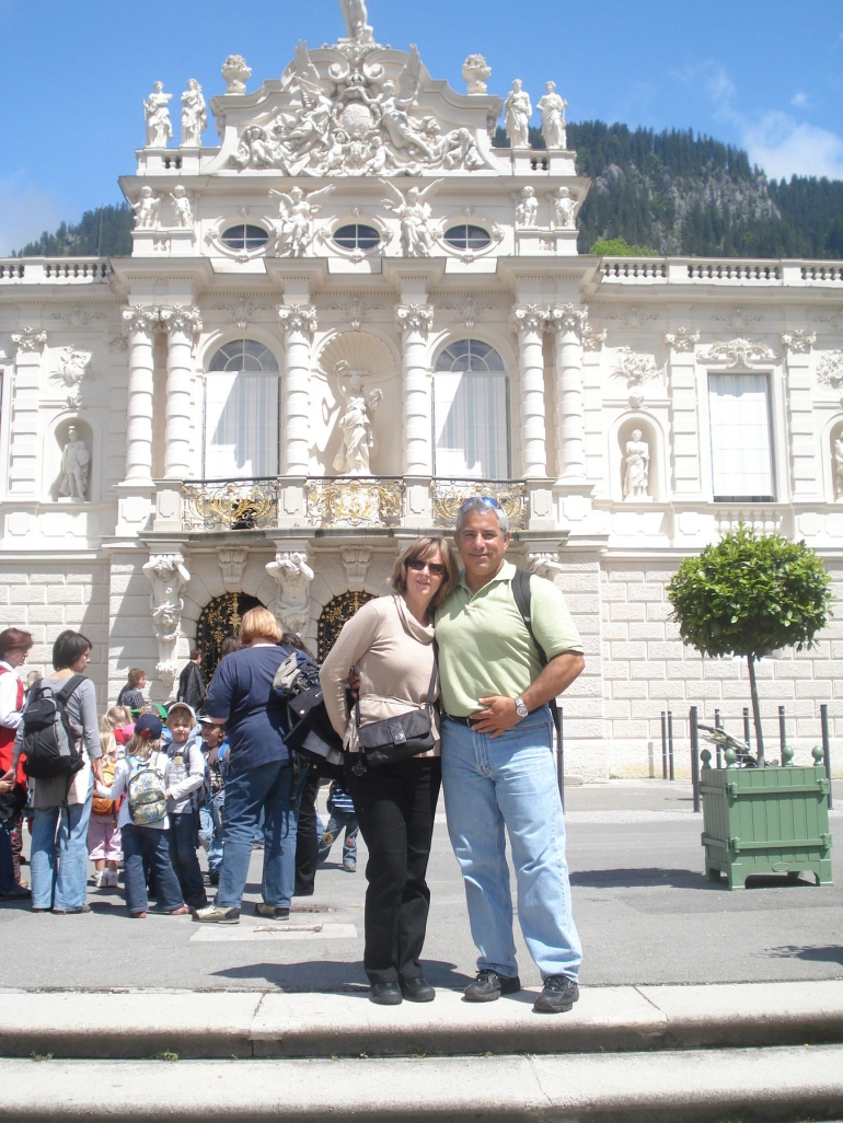 A great day at Linderhof Castle - Munich
