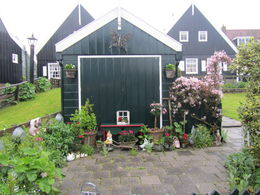 Photo of Amsterdam Zaanse Schans Windmills, Marken and Volendam Half-Day Trip from Amsterdam A pretty garden shed at Marken