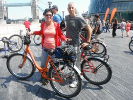 Photo of London Small-Group River Thames Bike Tour Along the River Thames...