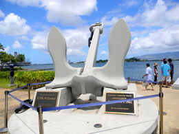 Photo of Oahu Arizona Memorial, Pearl Harbor and Punchbowl Sightseeing Tour Anchor from the USS Arizona