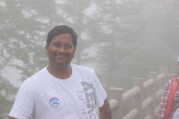 At 5th stage Mt.Fuji , divvelamurali - July 2015