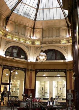 Photo of Melbourne Melbourne City Sights Morning Tour with Optional Yarra Cruise Atrium at the Center of the Arcade