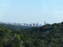 Great view of the Austin skyline, taylor - December 2012