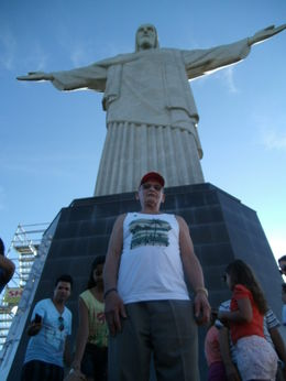 Photo of Rio de Janeiro Corcovado Mountain, Christ Redeemer and Sugar Loaf Mountain Day Tour Christ the Redemer