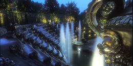 Versailles Gardens Fountain Show - July 2012