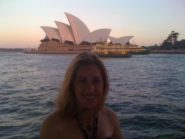 Photo of Sydney Sydney Showboats Cabaret Dinner Cruise Enjoying the view and fresh air
