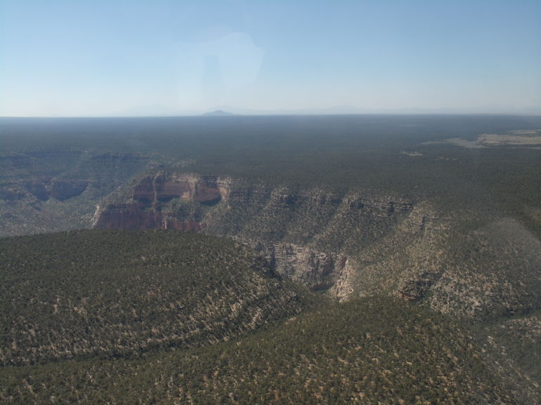 Flying over the South Rim - Las Vegas
