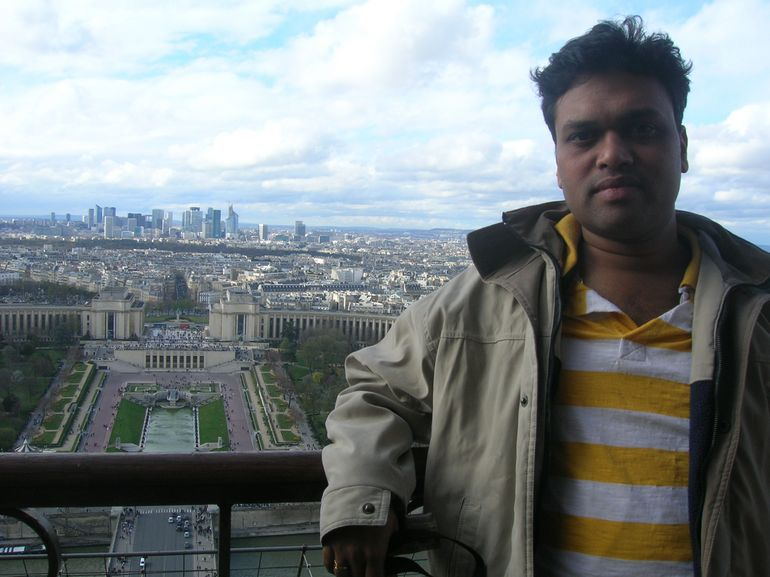 From 2nd floor of Eiffel Tower - Paris