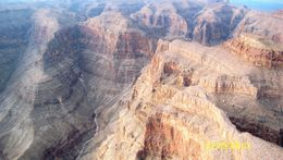 Photo of Las Vegas Ultimate Grand Canyon 4-in-1 Helicopter Tour From the air