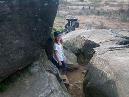 Our granddaughter at Little Round Top. , Lindsay C - May 2013