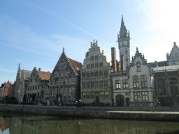 Ghent is as picturesque as they say, also Bruges but a little less than Ghent in my opinion. , Akapol T - April 2014