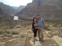 Dave and Liz in the Canyon , David F - August 2014